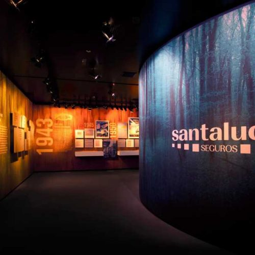 "Permanent exhibition ""Santalucía seguros"" in the central headquarters – Madrid"